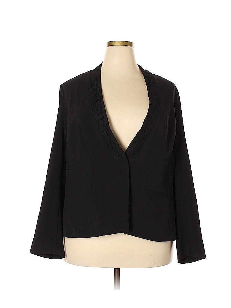 Lane Bryant Women Blazer Size 22 (Plus)