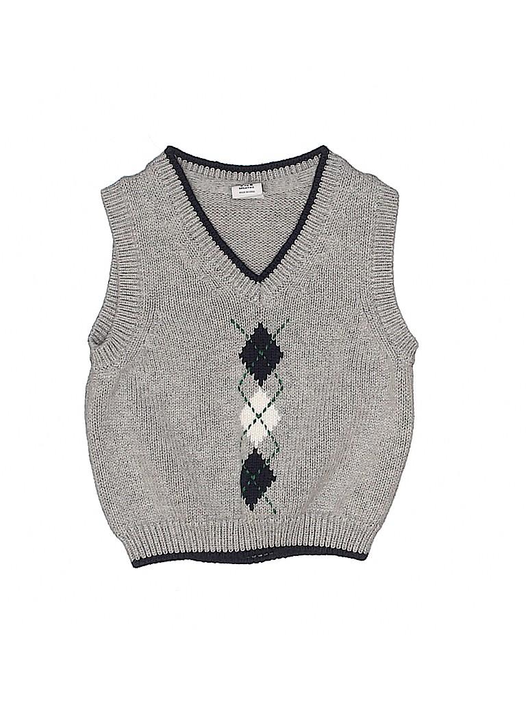 Janie and Jack Boys Sweater Vest Size 3-6 mo