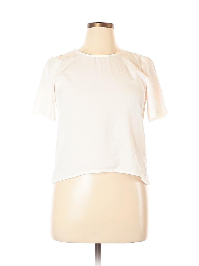 Assorted Brands Women Short Sleeve Blouse Size 18 (Plus)