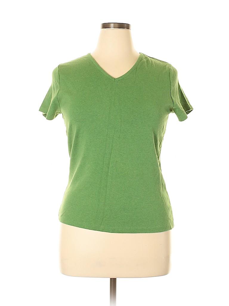 Cherokee Women Short Sleeve T-Shirt Size L