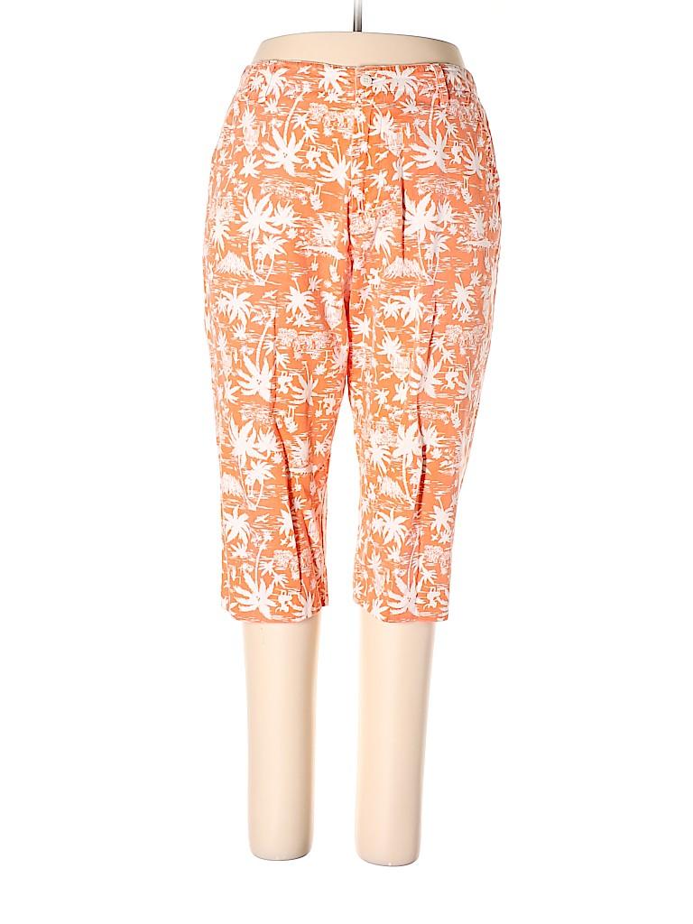 St. John's Bay Women Khakis Size 14 (Petite)