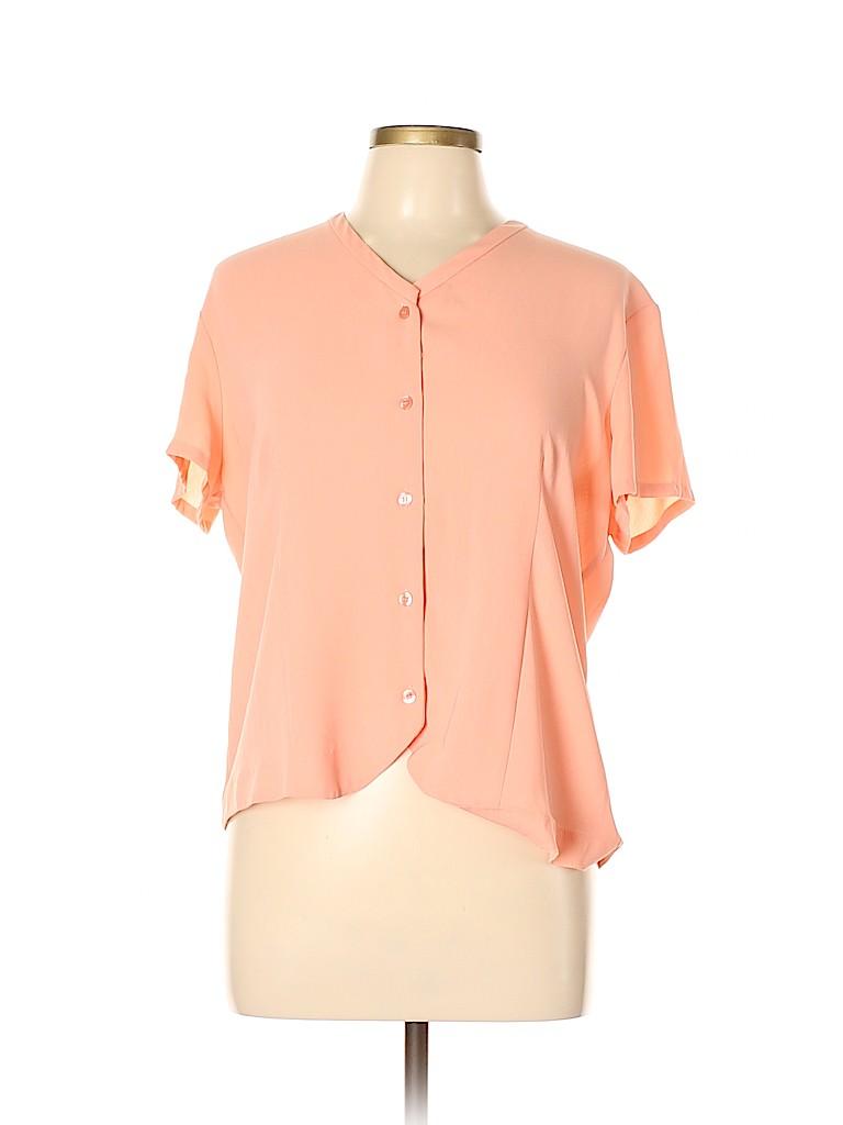 Villager Women 3/4 Sleeve Blouse Size L