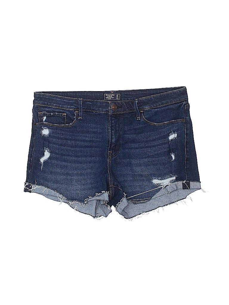 Abercrombie & Fitch Women Denim Shorts 31 Waist
