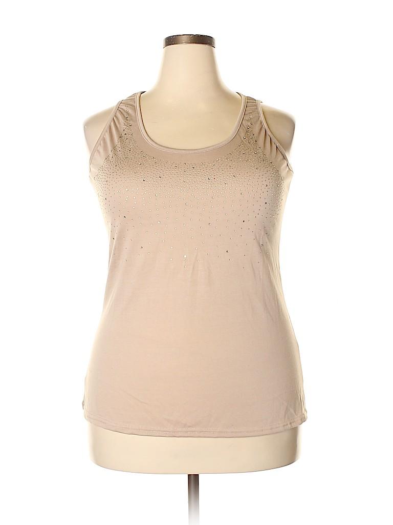 Brand Unspecified Women Sleeveless Top Size 5X (Plus)