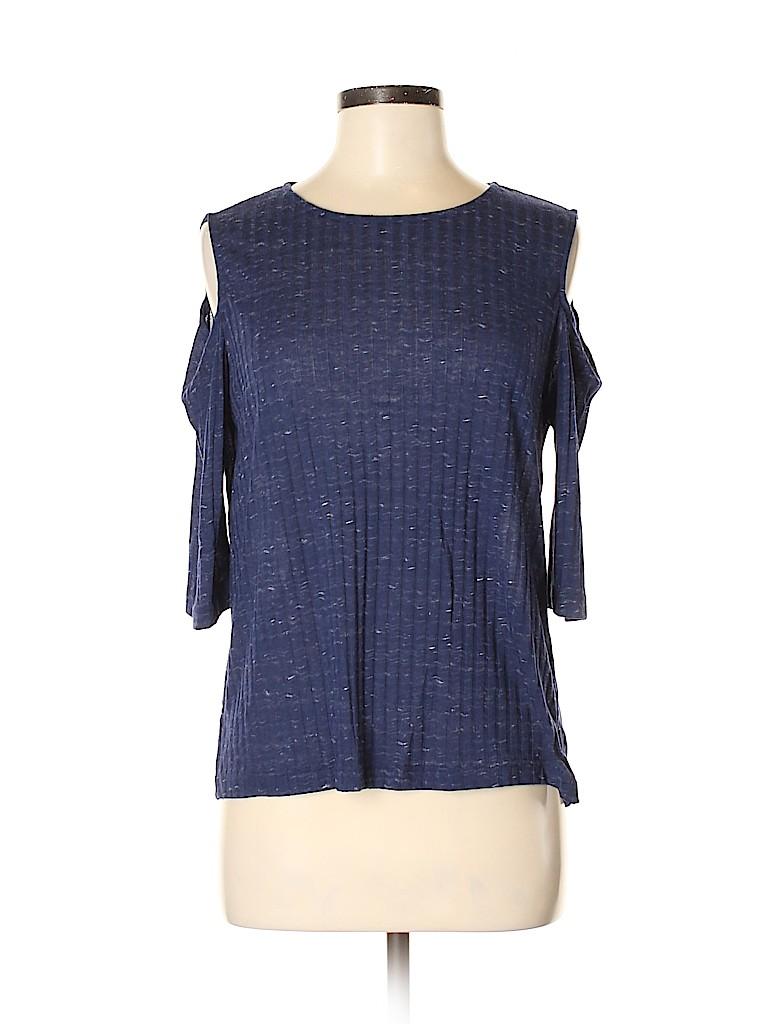 Nally & Millie Women Short Sleeve Top Size M