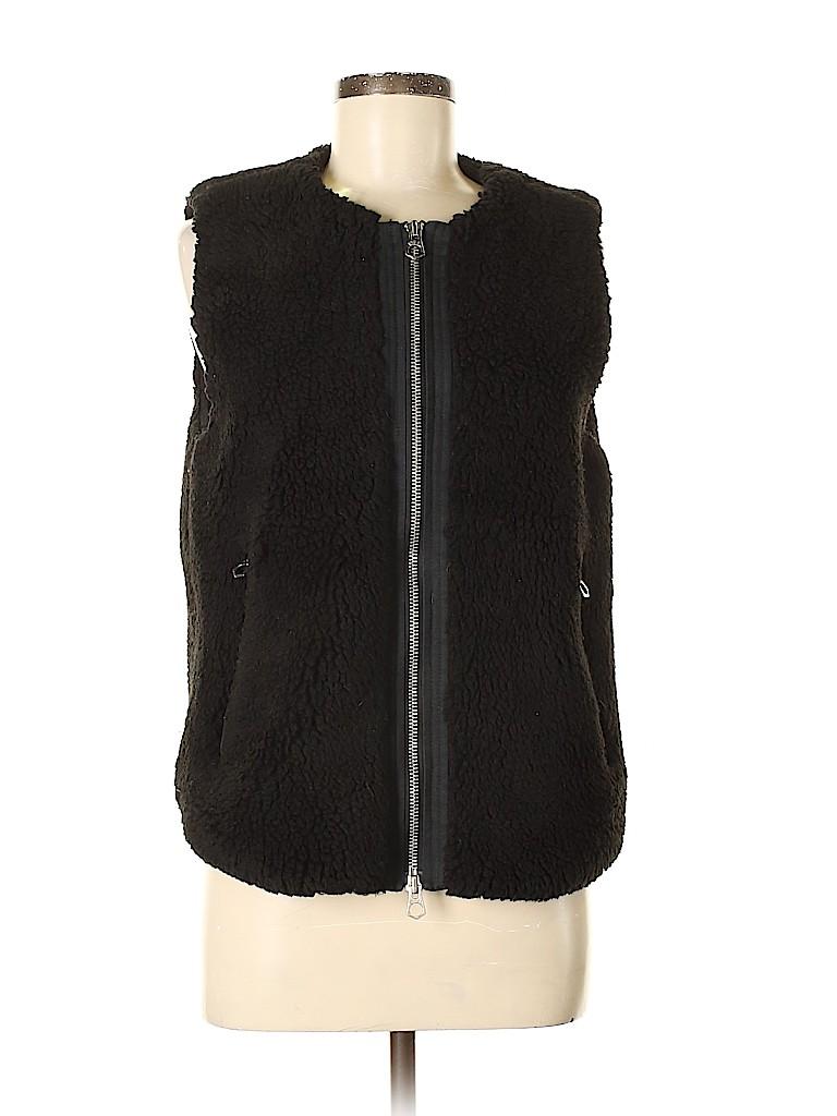 Madewell Women Faux Fur Vest Size M