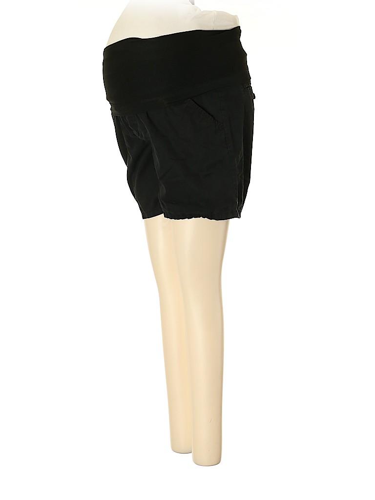 Liz Lange Maternity Women Khaki Shorts Size XS (Maternity)