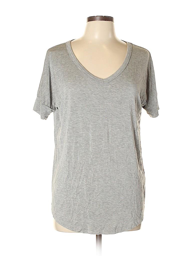 Joe Fresh Women Short Sleeve T-Shirt Size M