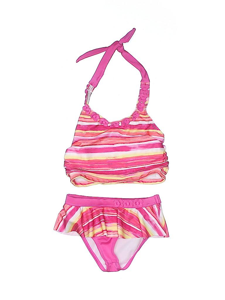Gymboree Girls Two Piece Swimsuit Size 4T