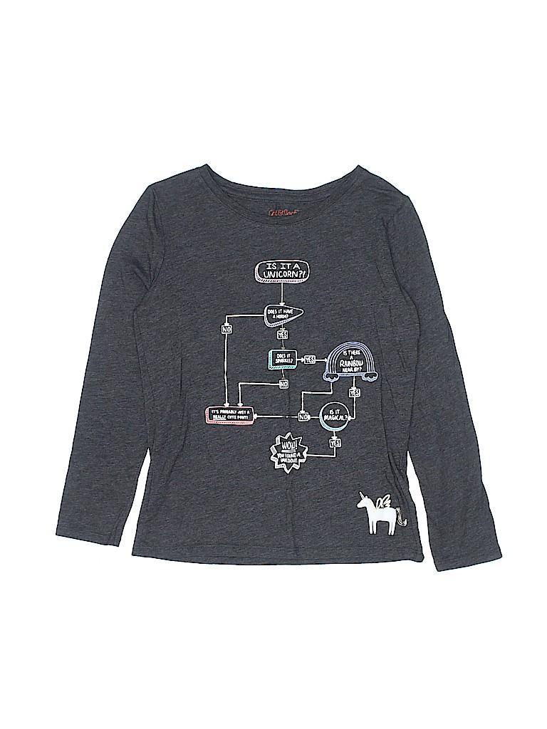 Cat & Jack Girls Long Sleeve T-Shirt Size 6 - 6X