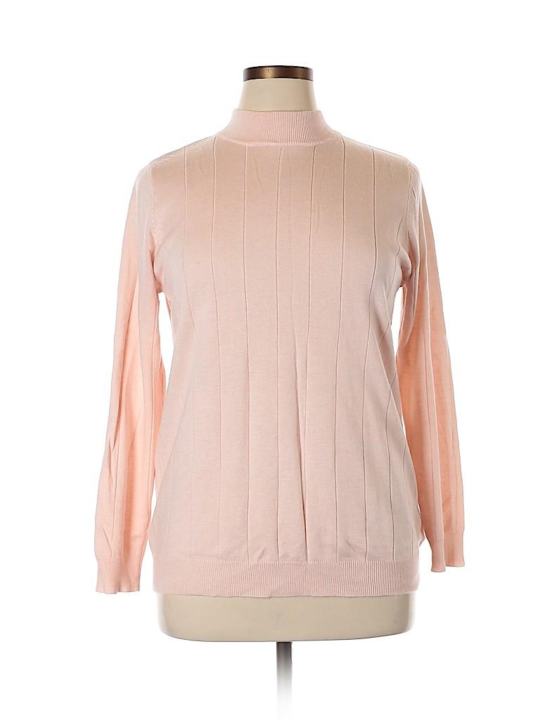 Roaman's Women Pullover Sweater Size 14 (M)