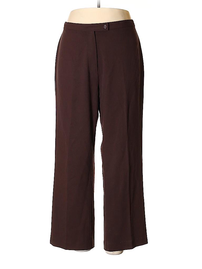 Investments II Women Dress Pants Size 16W