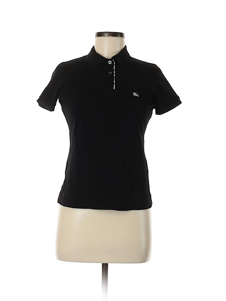 Burberry Women Short Sleeve Polo Size M