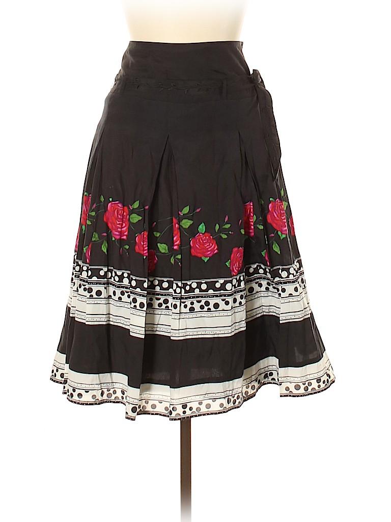Blue Les Copains Women Casual Skirt Size 44 (EU)