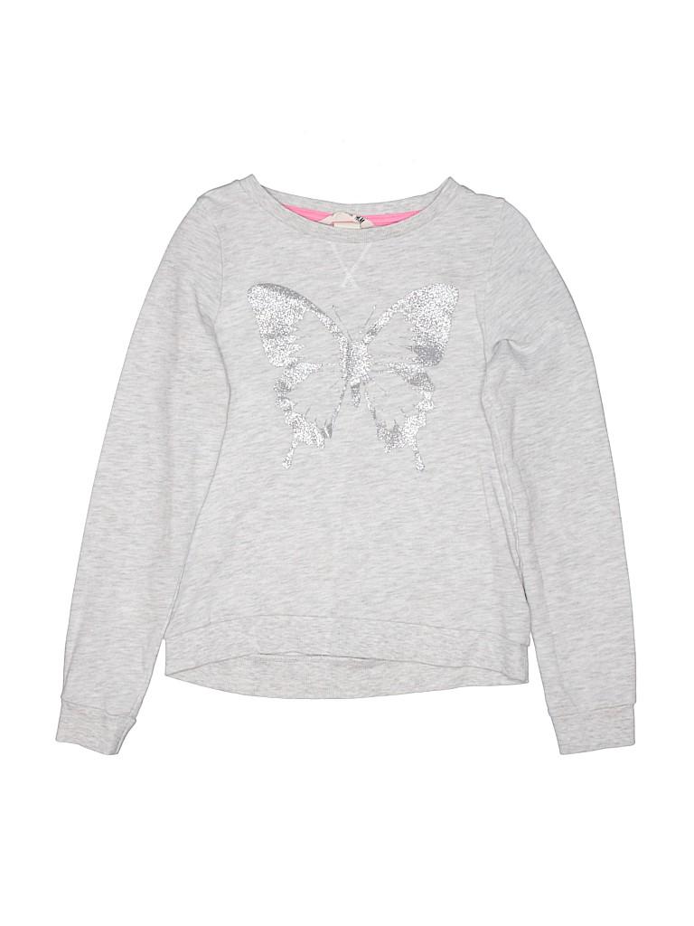 H&M Girls Sweatshirt Size 8