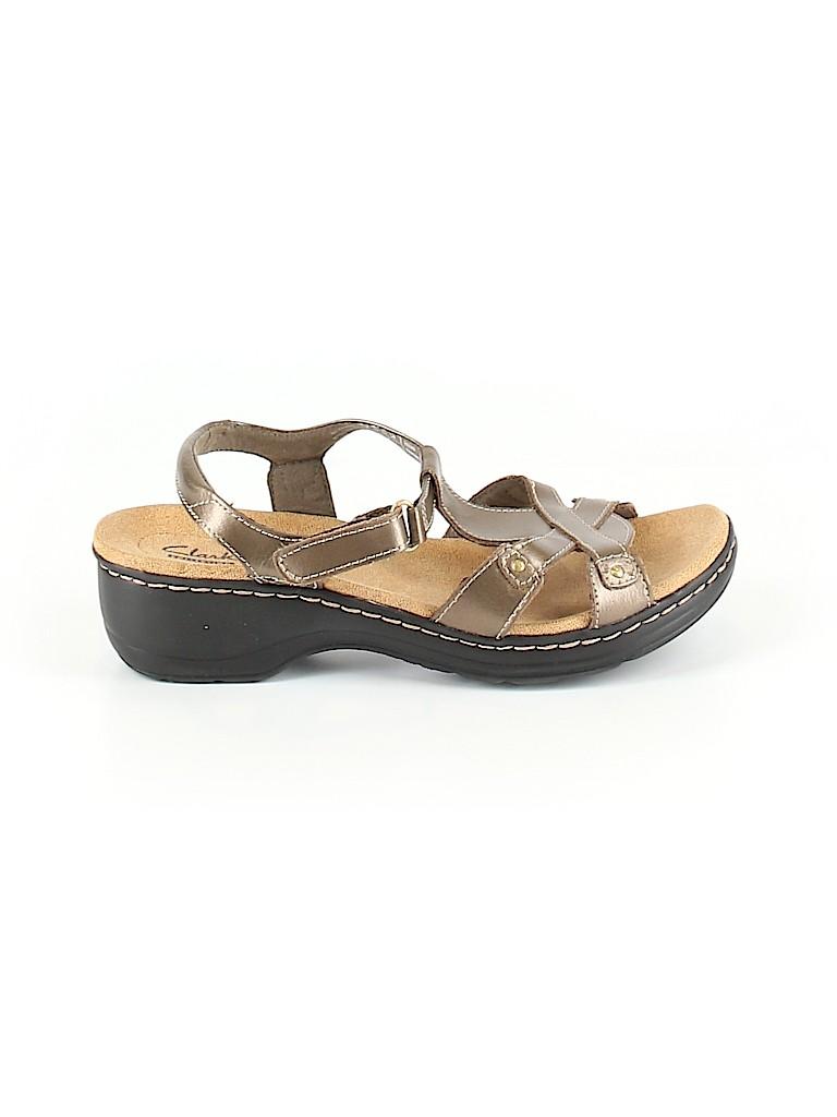 Clarks Women Sandals Size 8