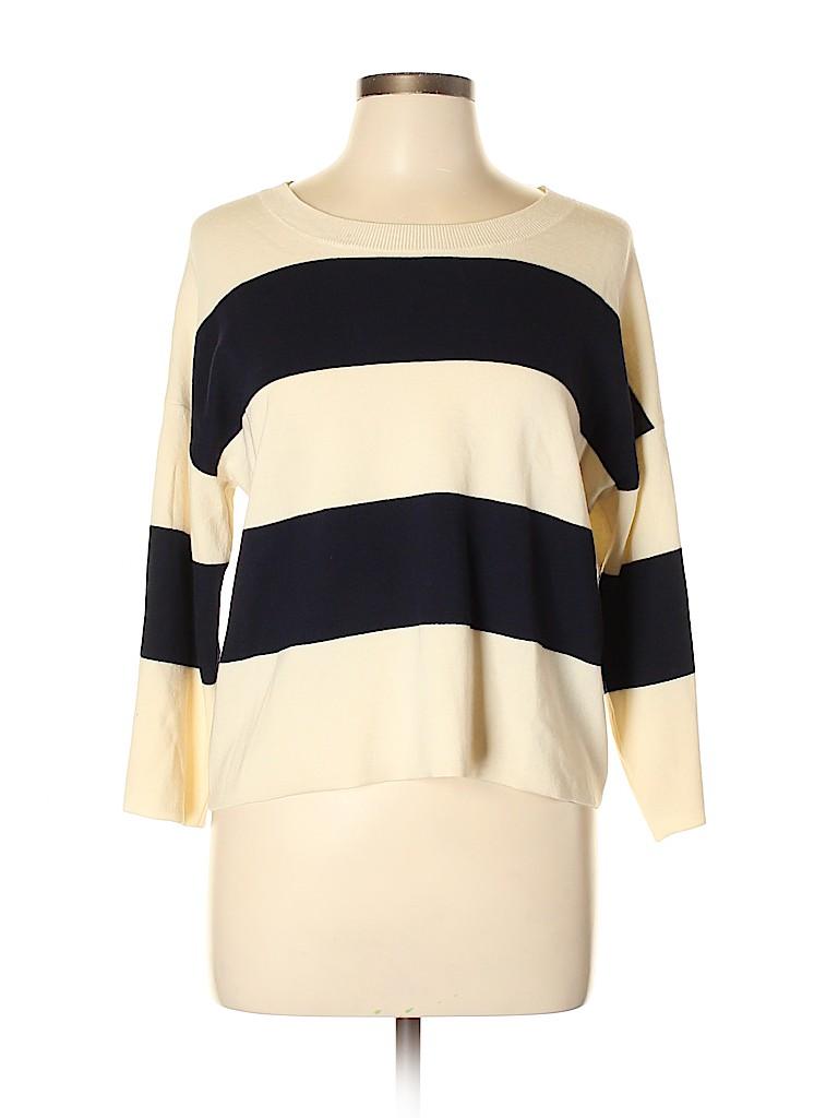 J Brand Women Wool Pullover Sweater Size L