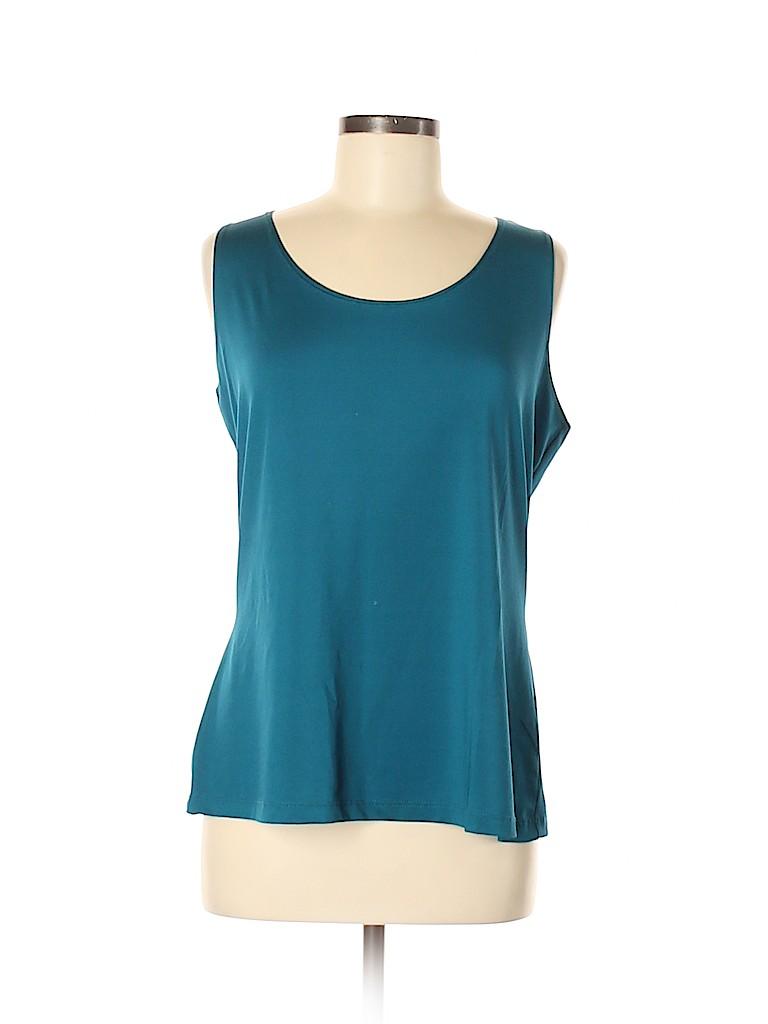 DressBarn Women Sleeveless T-Shirt Size XL