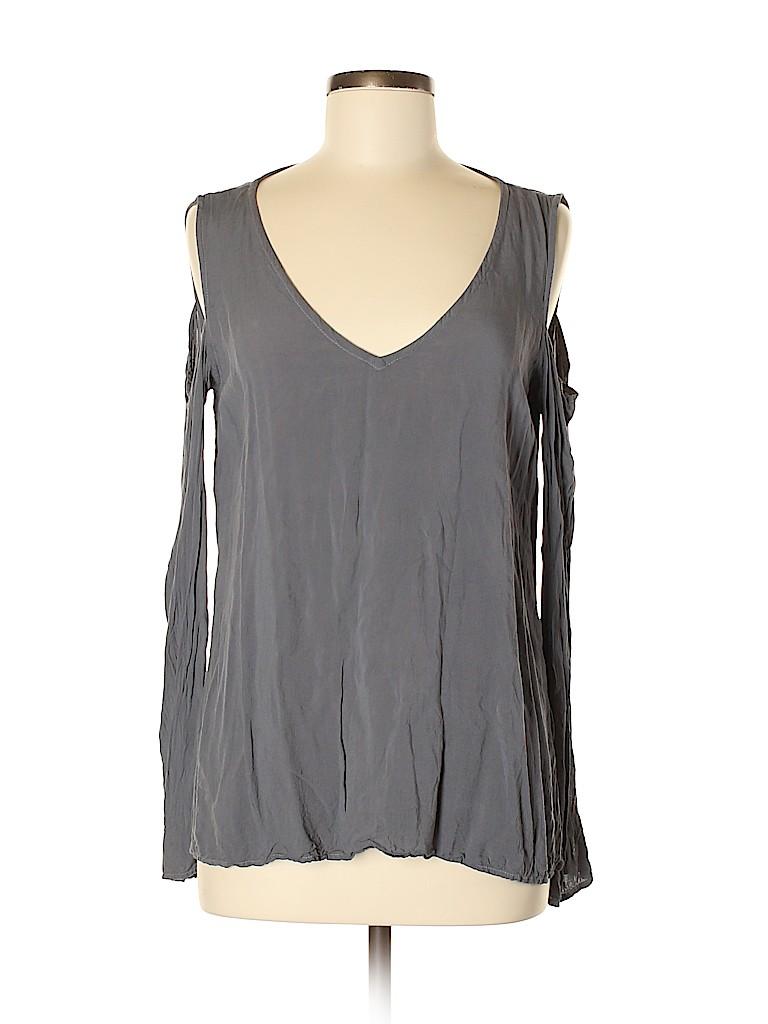 Bella Dahl Women Long Sleeve Blouse Size M