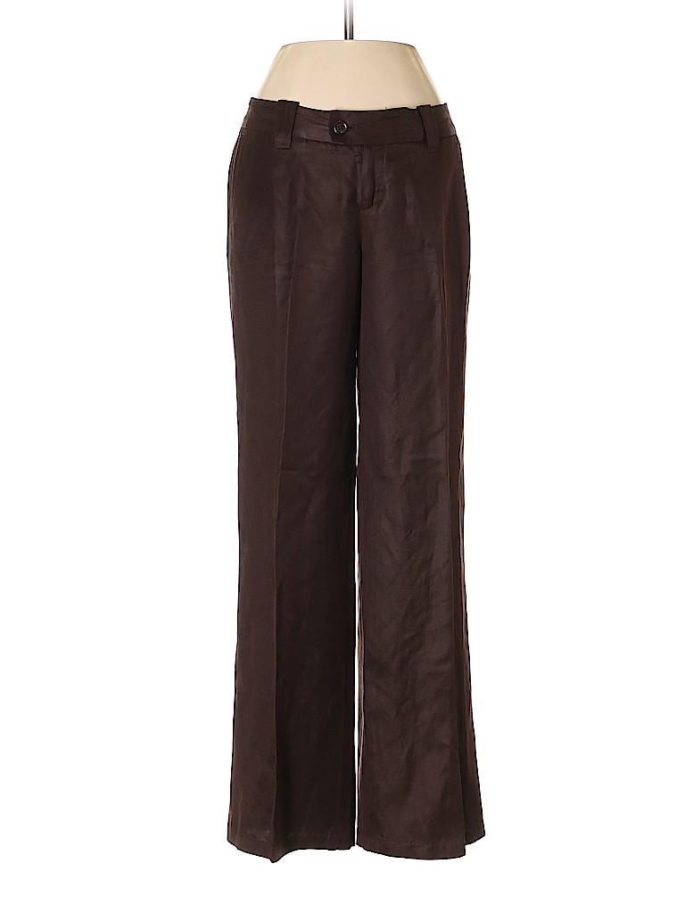Banana Republic Women Linen Pants Size 0 (Petite)