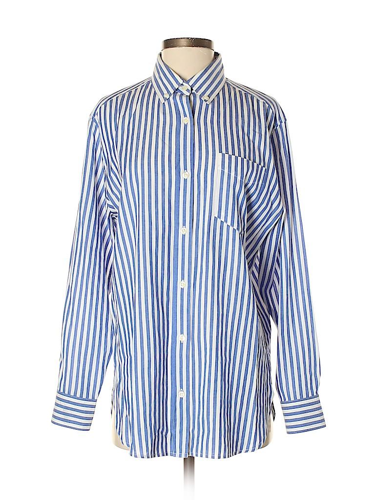 Isabel Marant Women Long Sleeve Button-Down Shirt Size 36 (FR)