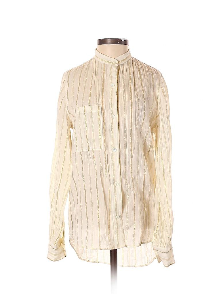 Isabel Marant Women Long Sleeve Blouse Size 34 (FR)