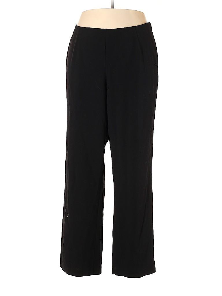 Investments II Women Dress Pants Size 18W (Plus)