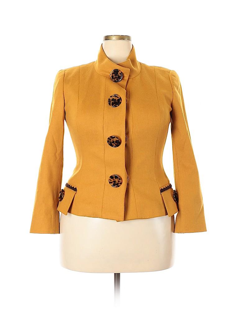 Etcetera Women Wool Coat Size 14