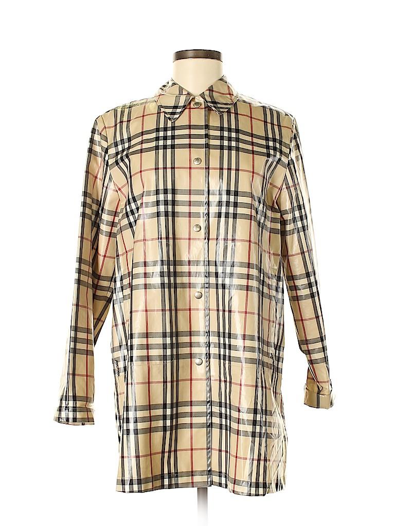 Burberry Women Raincoat Size 8