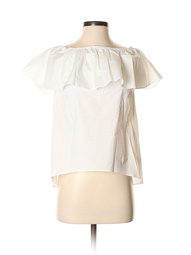 MICHAEL Michael Kors Women Short Sleeve Blouse Size XS