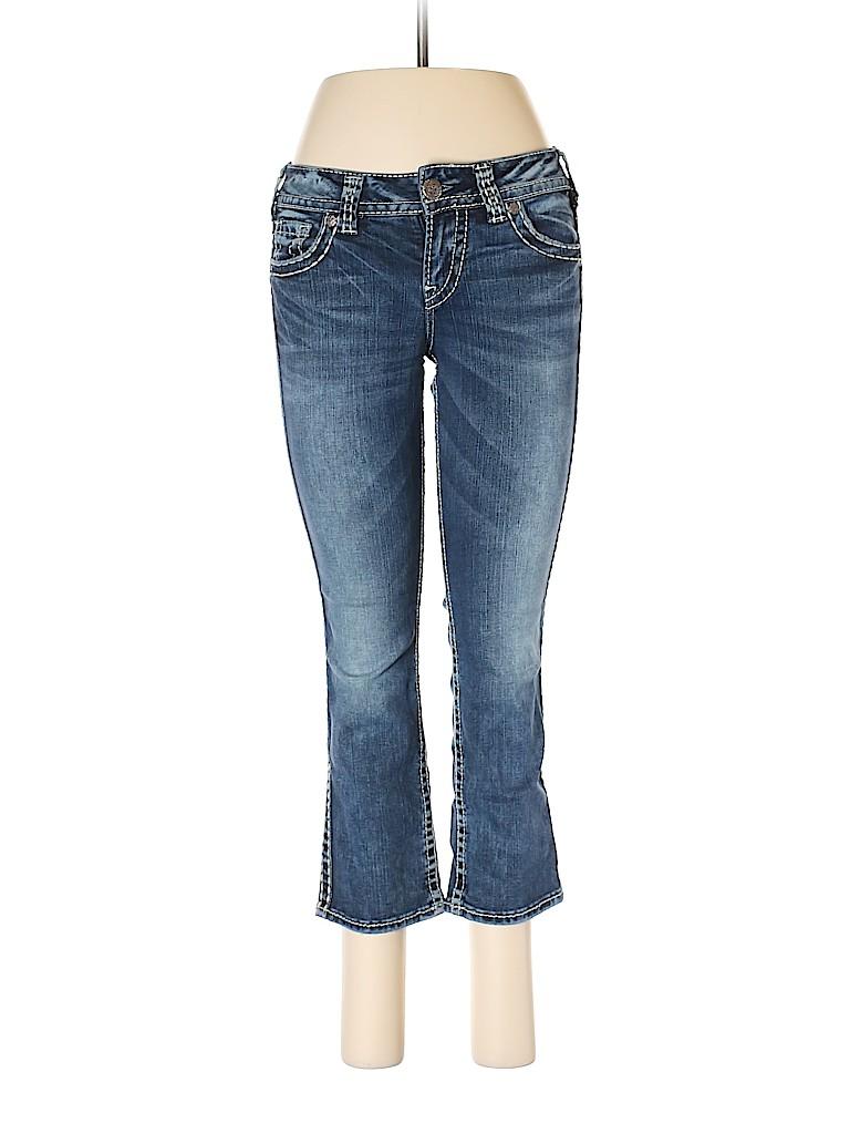 Silver Women Jeans 26 Waist