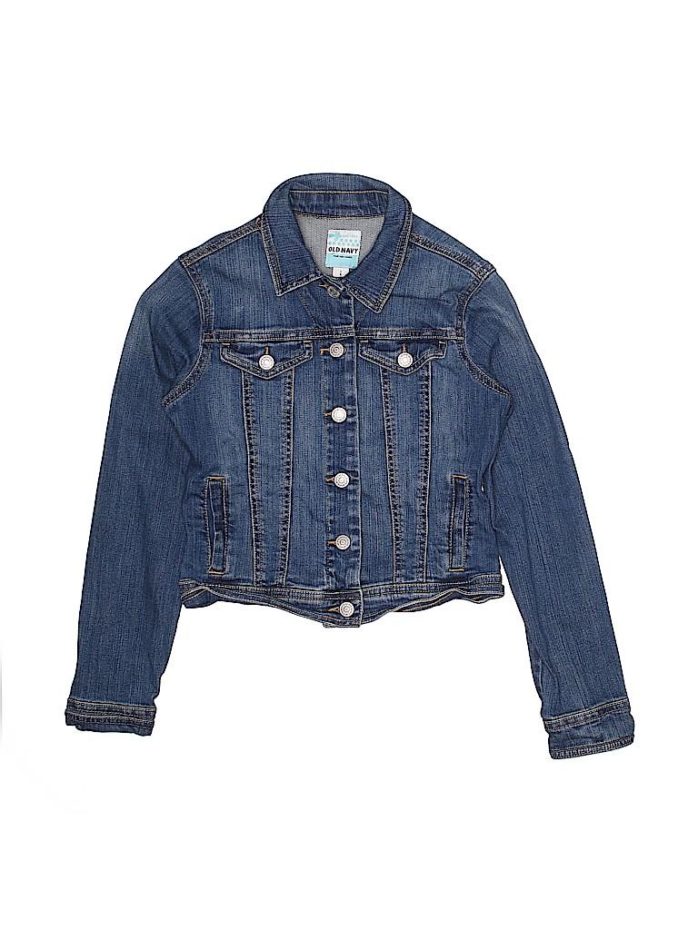 Old Navy Girls Denim Jacket Size 10 - 12