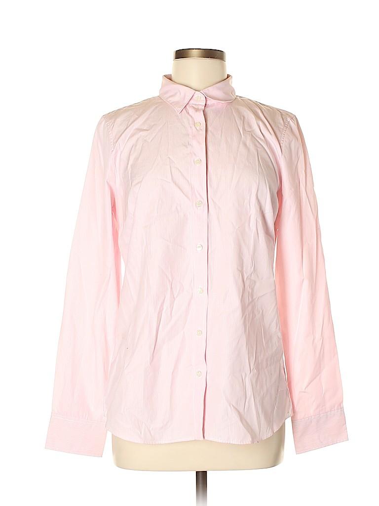 J. Crew Women Long Sleeve Button-Down Shirt Size M