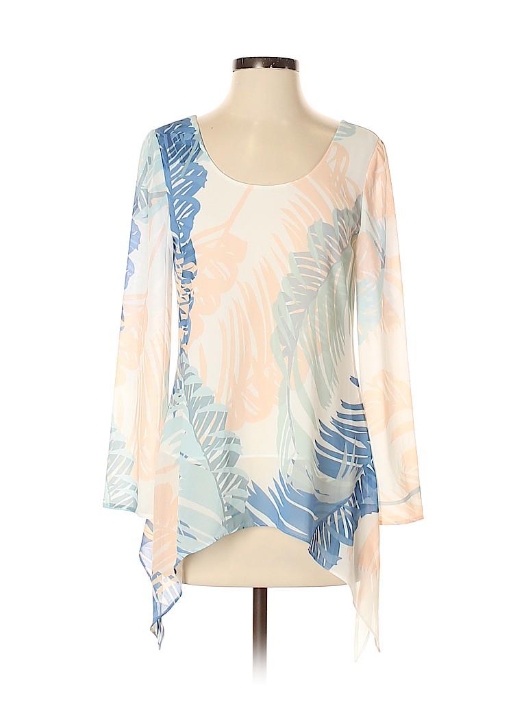 Reiss Women 3/4 Sleeve Blouse Size 2
