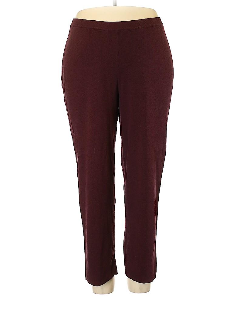 Liz Claiborne Women Casual Pants Size 2X (Plus)
