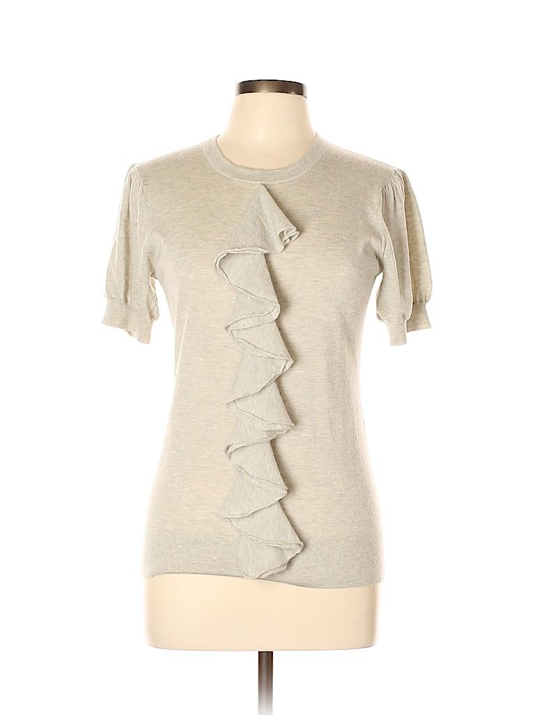 Autumn Cashmere Women Cashmere Pullover Sweater Size L