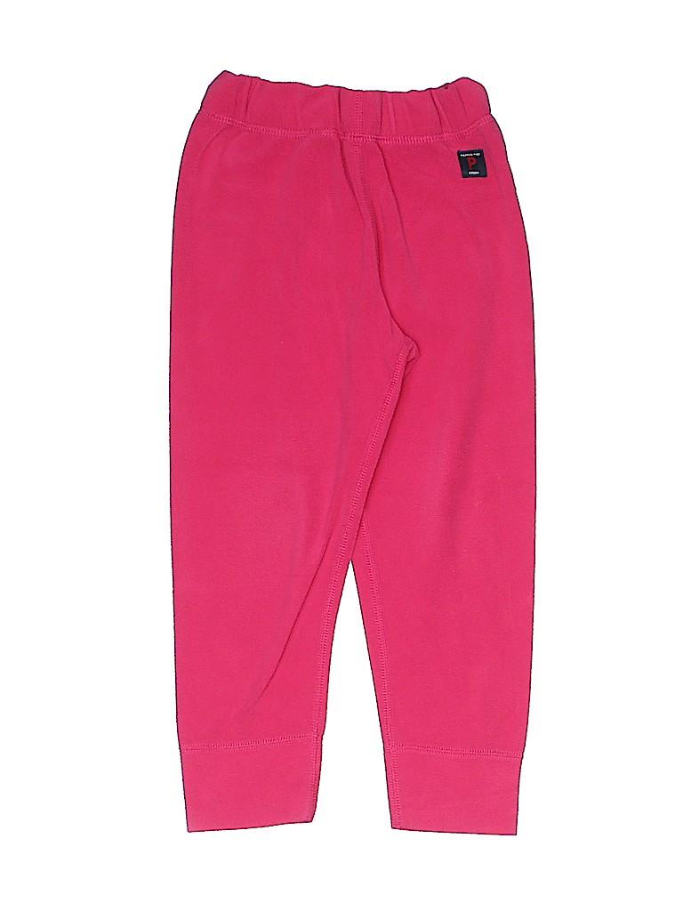 Polarn O. Pyret Girls Fleece Pants Size 2