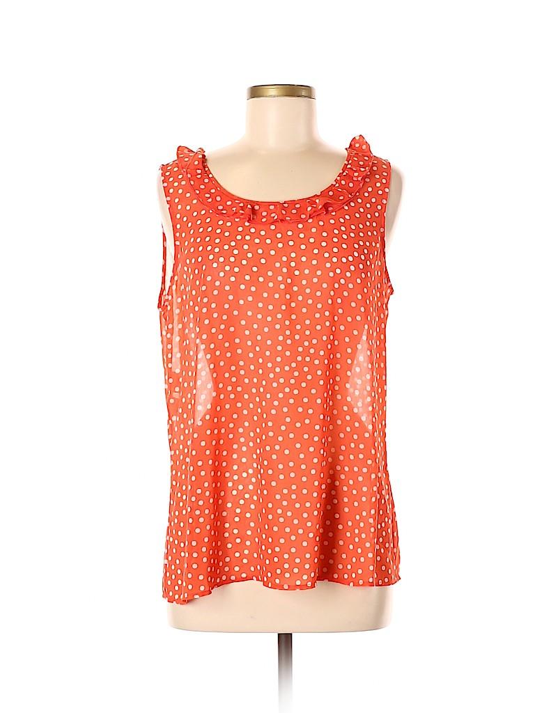 Jones New York Collection Women Sleeveless Blouse Size 12