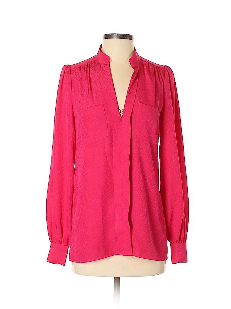 Reiss Women Long Sleeve Blouse Size 4