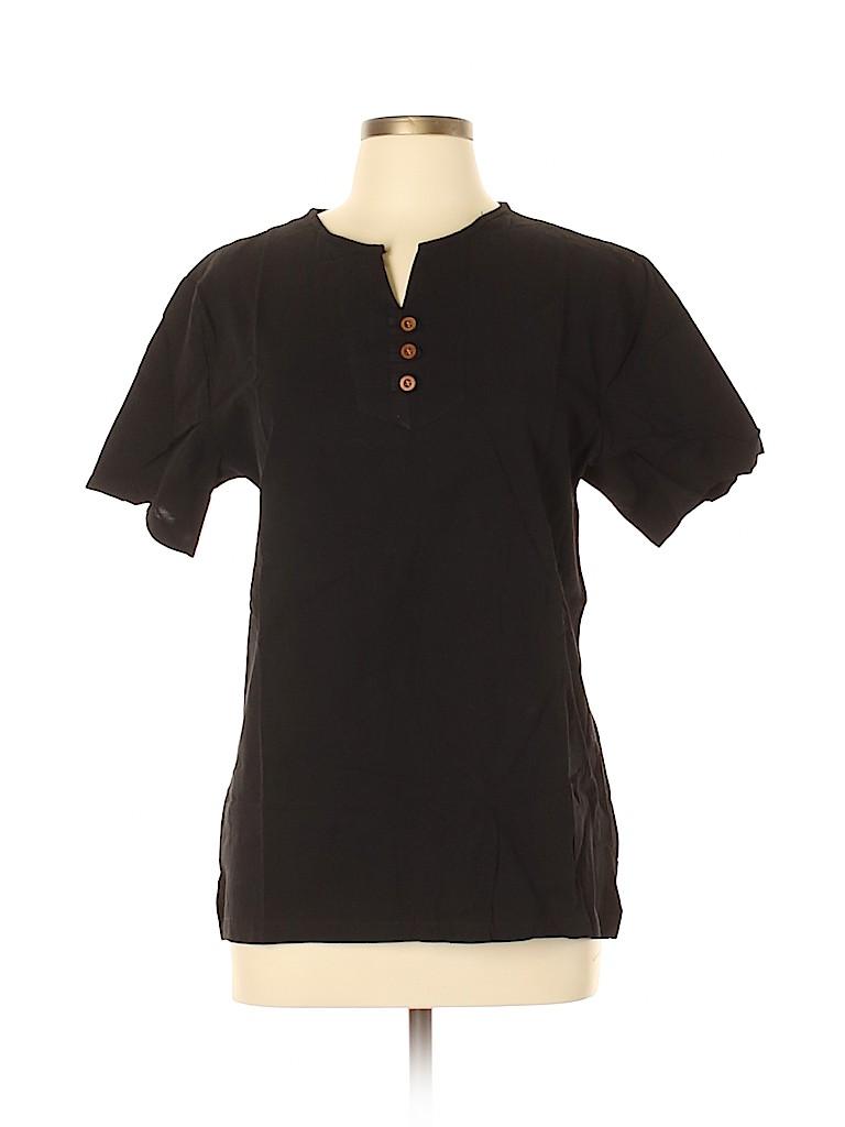 Unbranded Women Short Sleeve Blouse Size 5X (Plus)