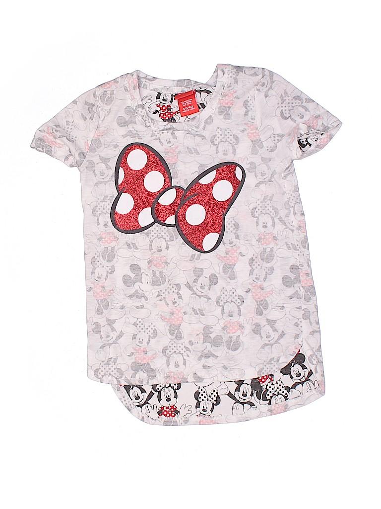 Disney Girls Short Sleeve T-Shirt Size 6 - 6X