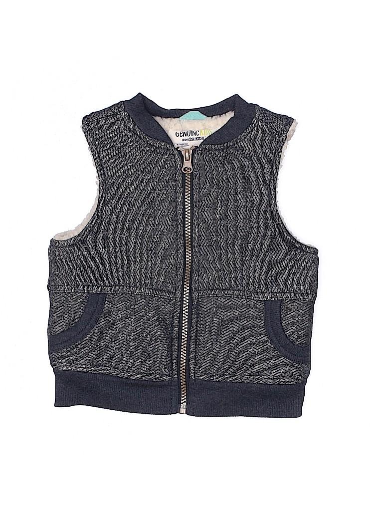 Genuine Kids from Oshkosh Boys Vest Size 12 mo
