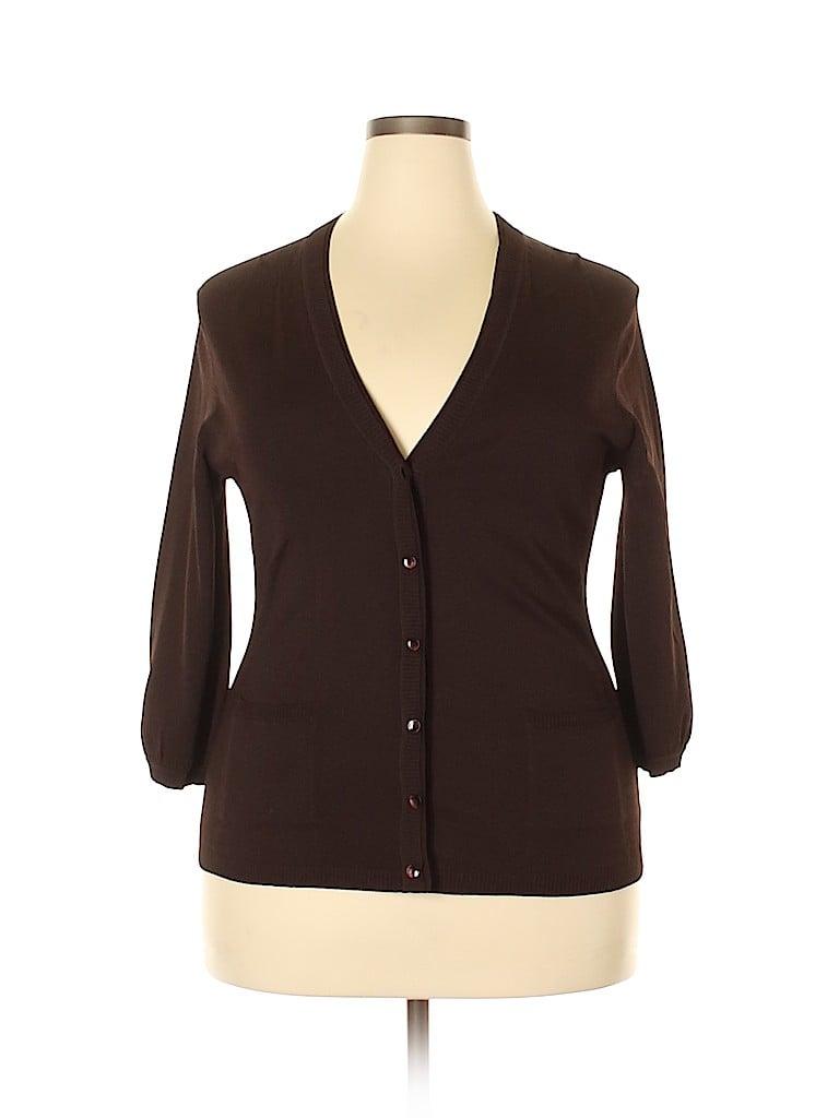 Jones New York Collection Women Cardigan Size XL
