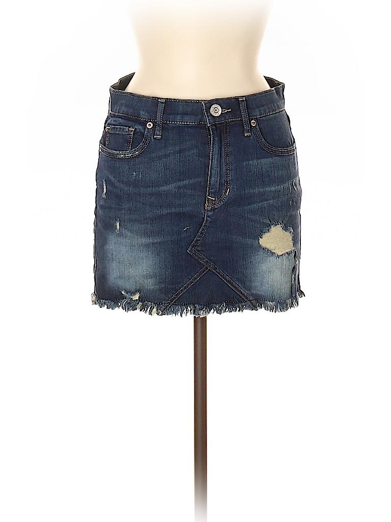 Express Jeans Women Denim Skirt Size 2