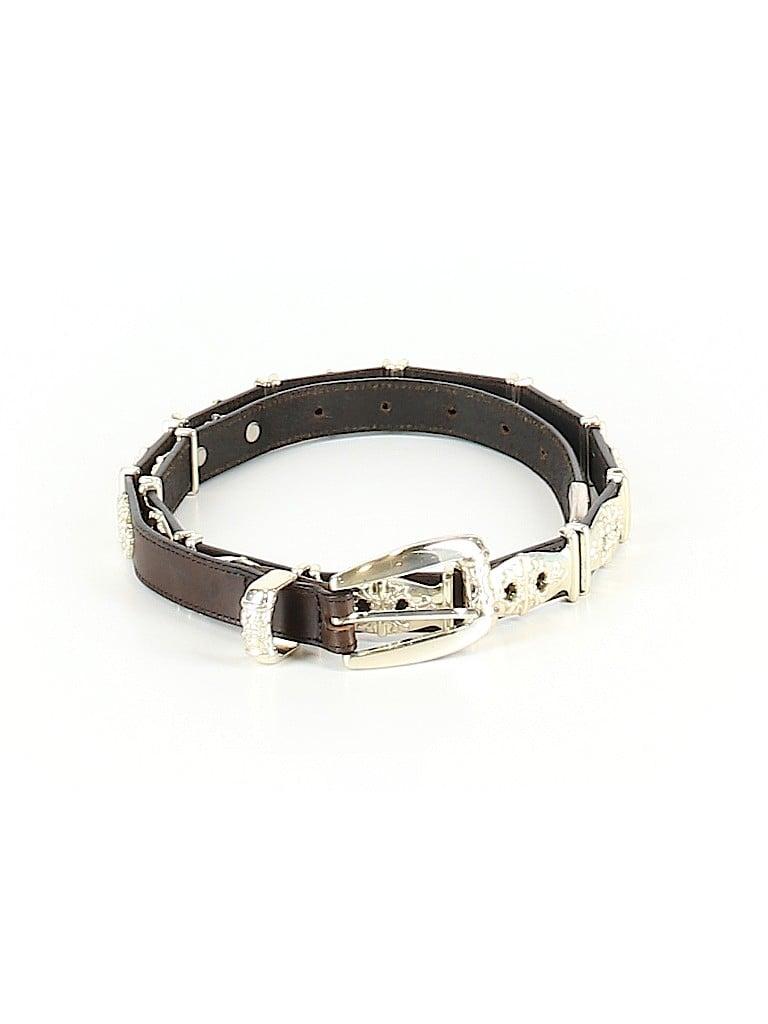 Linea Pelle Women Leather Belt Size L