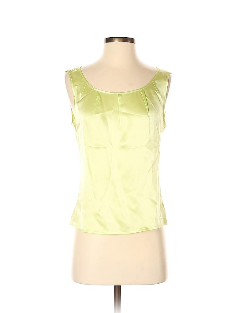 Escada Women Sleeveless Silk Top Size 34 (EU)