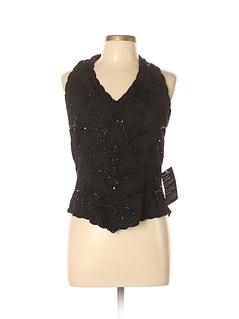 Jkara Women Sleeveless Blouse Size L