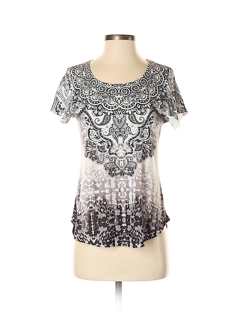 One World Women Short Sleeve T-Shirt Size S