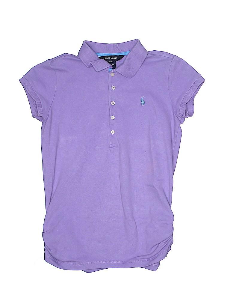 Ralph Lauren Girls Short Sleeve Polo Size 12 - 14