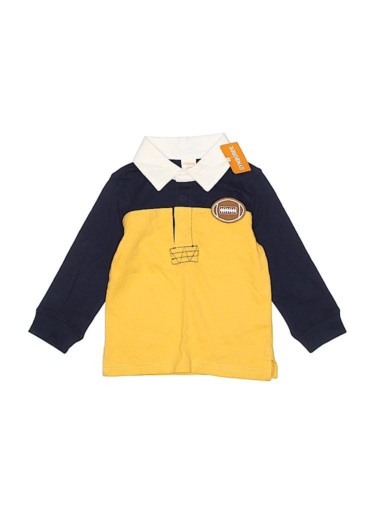 Gymboree Boys Long Sleeve Polo Size 18-24 mo